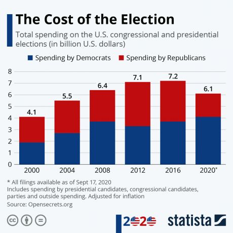 The Cost of the Election