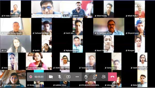 कलिंगा विवि में बीएएलएलबी, बीबीएएलएलबी  विद्यार्थियों के लिए ऑनलाईन स्वागत आयोजन