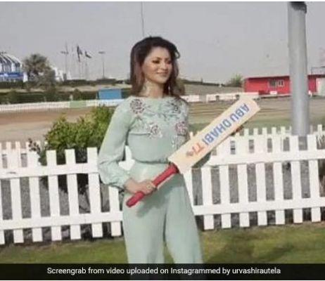 उर्वशी रौतेला भारत-पाकिस्तान क्रिकेट मैच को लेकर जोश में, बुक करवाई मैच की टिकट