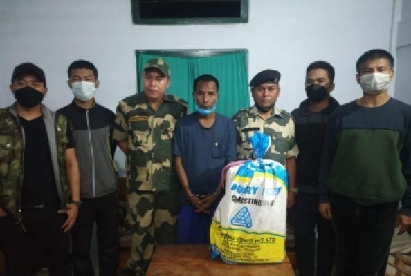 बीएसएफ ने मिजोरम में 6 करोड़ रुपये की ड्रग्स जब्त की