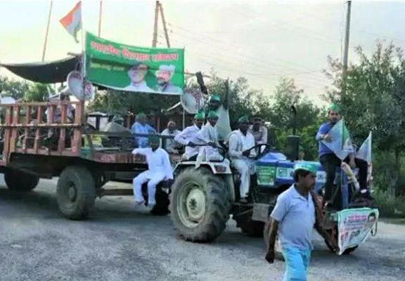 UP चुनाव से पहले बिहार-यूपी के किसानों का अलग आंदोलन, मंगलवार को लखनऊ का घेराव, PM मोदी से पूछे 10 सवाल