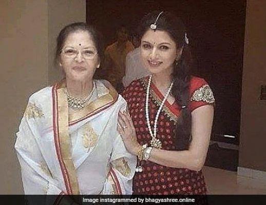 भाग्यश्री ने मम्मी के साथ शेयर की फोटो तो फैन्स बोले- आप में उनकी झलक मिलती है