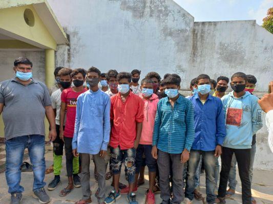 तमिलनाडु में बंधक पिथौरा के 2 दर्जन मजदूरों को छुड़ाया