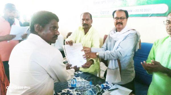 38 गांवों के हितग्राहियों को दिया जाति प्रमाण पत्र