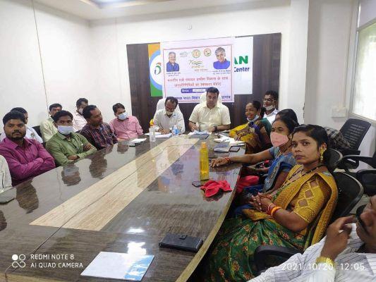 चिपावंड, मसोरा के सरपंचों के कार्यों की पंचायत मंत्री ने की प्रशंसा