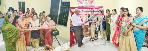 स्सरयूपारीण ब्राह्मण महिला समाज ने मनाया शरद उत्सव, कई कार्यक्रम
