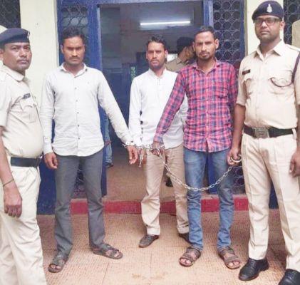 घर में घुसकर मारपीट, 3 गिरफ्तार