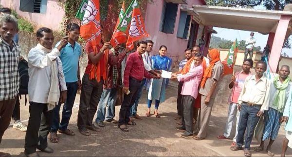 भाजपा सहकारिता प्रकोष्ठ ने राज्यपाल के नाम मांगों का सौंपा ज्ञापन