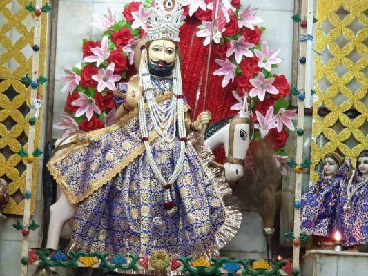 बाबा रामदेव मंदिर में शरद पूर्णिमा का आयोजन