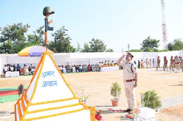 शहीदों ने मातृभूमि की सेवा के लिए अपना सर्वस्व बलिदान किया - बालाजी राव