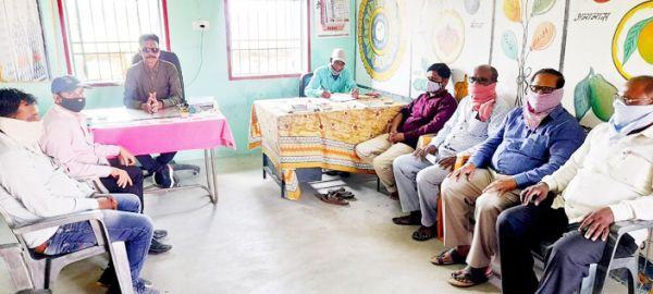 संकुल प्राचार्य ने ली शिक्षकों की बैठक, कई विषयों पर चर्चा
