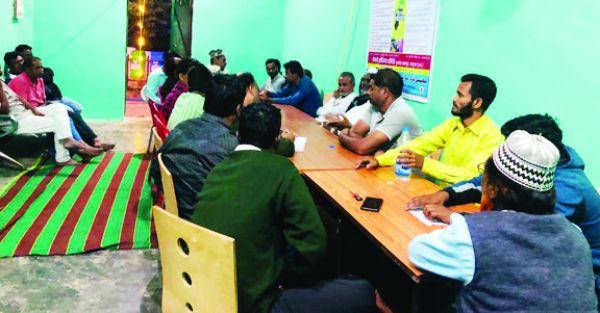 लखनपुर अंजुमन गौसो रजा कमेटी के सदर चुने गए हाजी कयामुद्दीन अंसारी