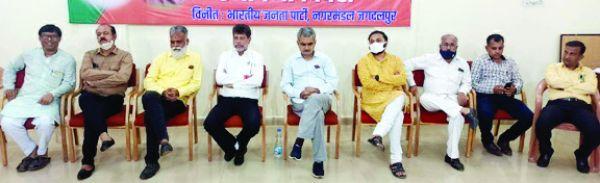 भाजपा ने मनाया भारतीय जनसंघ स्थापना दिवस