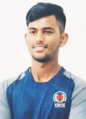 विजय यादव का बीसीसीआई के जूनियर इंडिया अंडर-19 चैलेंजर ट्रॉफी स्पर्धा के लिए चयन