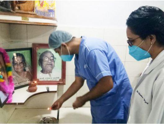 पूर्व विधायक गणेश शंकर बाजपेयी की स्मृति में निशुल्क अस्थि रोग जांच शिविर