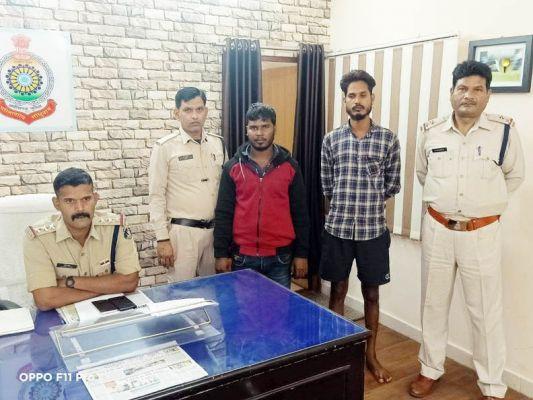गांजा तस्करी से जुड़े लिंक का पर्दाफाश, दो ठिकानों में दबिश, 2 साथी गिरफ्तार