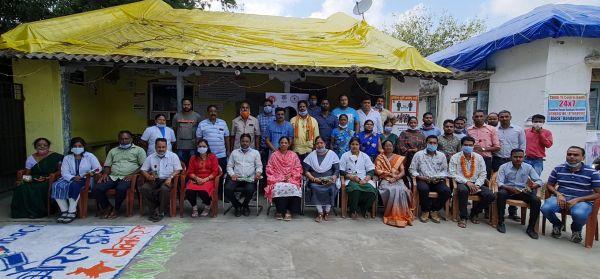 100 करोड़ टीकाकरण लक्ष्य पूरा, भाजपा ने कोरोना वॉरियर्स का सम्मान