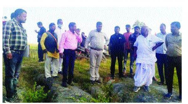 चिंतामणि महराज ने गेऊर नदी किनारे छठ घाट का किया निरीक्षण