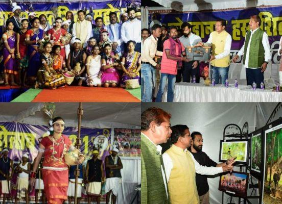 कोण्डानार हस्तशिल्प महोत्सव : जनजातीय फैशन शो के साथ नृत्य