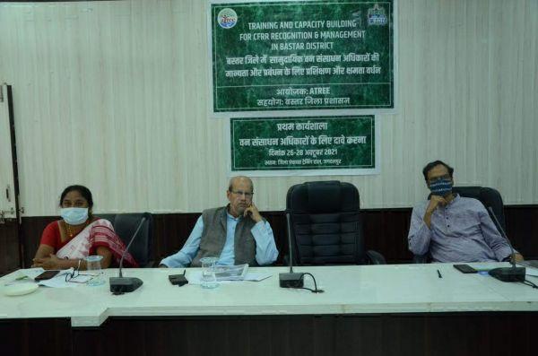 सामुदायिक वन संसाधन अधिकार की मान्यता और प्रबंधन पर प्रशिक्षण शुरू