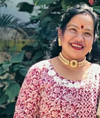 शिक्षिका ने लोकगीत में पिरोया जिले की खूबसूरती को